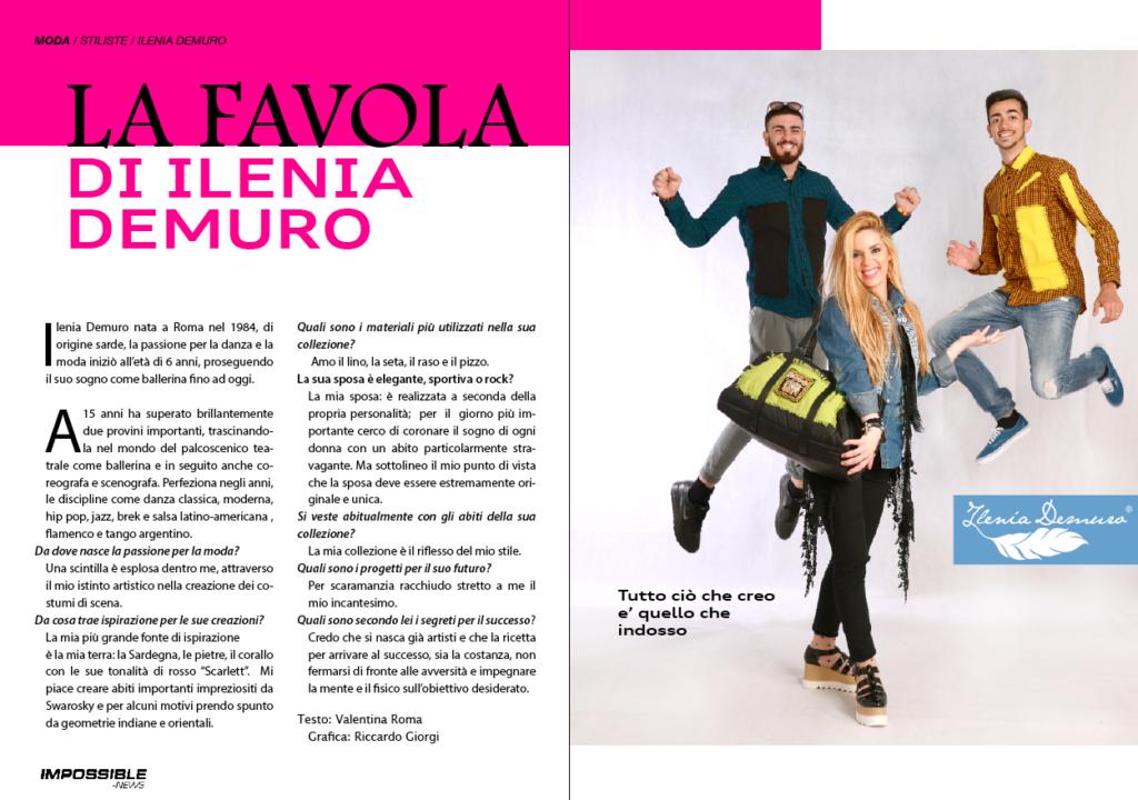 Ilenia Demuro intervista-su-impossible-news-2017